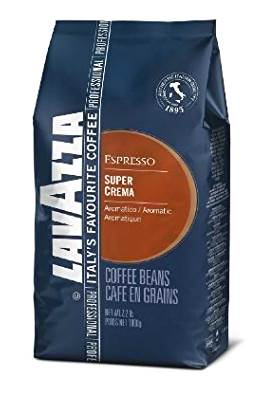 Lavazza Super Crema Espresso – Whole Bean Coffee